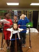 Rehearsals for Ninja Island