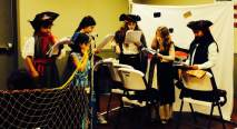Pirettes in Rehearsal . . .